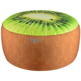 Outdoor pouffe kiwi