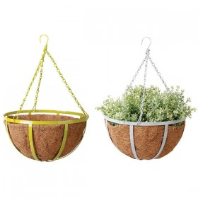 Hanging basket 30 cm choose your color