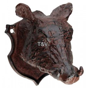 Wild boar wall decoration/peg