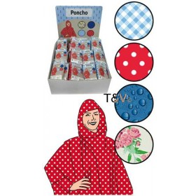 Poncho assorted decors