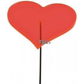 Glow in the day heart XS