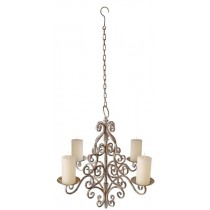Esschert Design Aged Metal Chandelier | Trends & Vision
