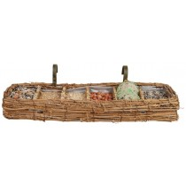 Esschert Design 6 Course bird dinner balcony basket | Trends & Vision