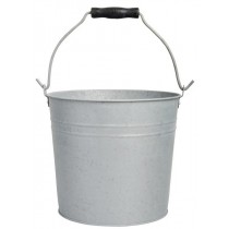 Esschert Design Bucket small old zinc 5.3 L | Trends & Vision