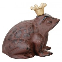 Esschert Design Toad with crown small | Trends & Vision