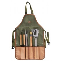 Esschert Design Bbq apron with tools | Trends & Vision