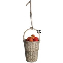 Esschert Design Fruit picking basket grey | Trends & Vision