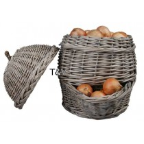 Esschert Design Onion basket grey | Trends & Vision