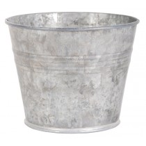 Esschert Design Flower pot small - Old zinc | Trends & Vision